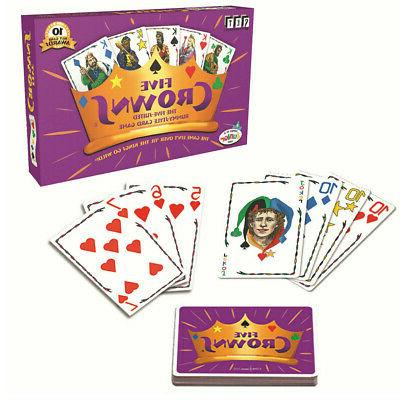five crowns card game 5 suites classic