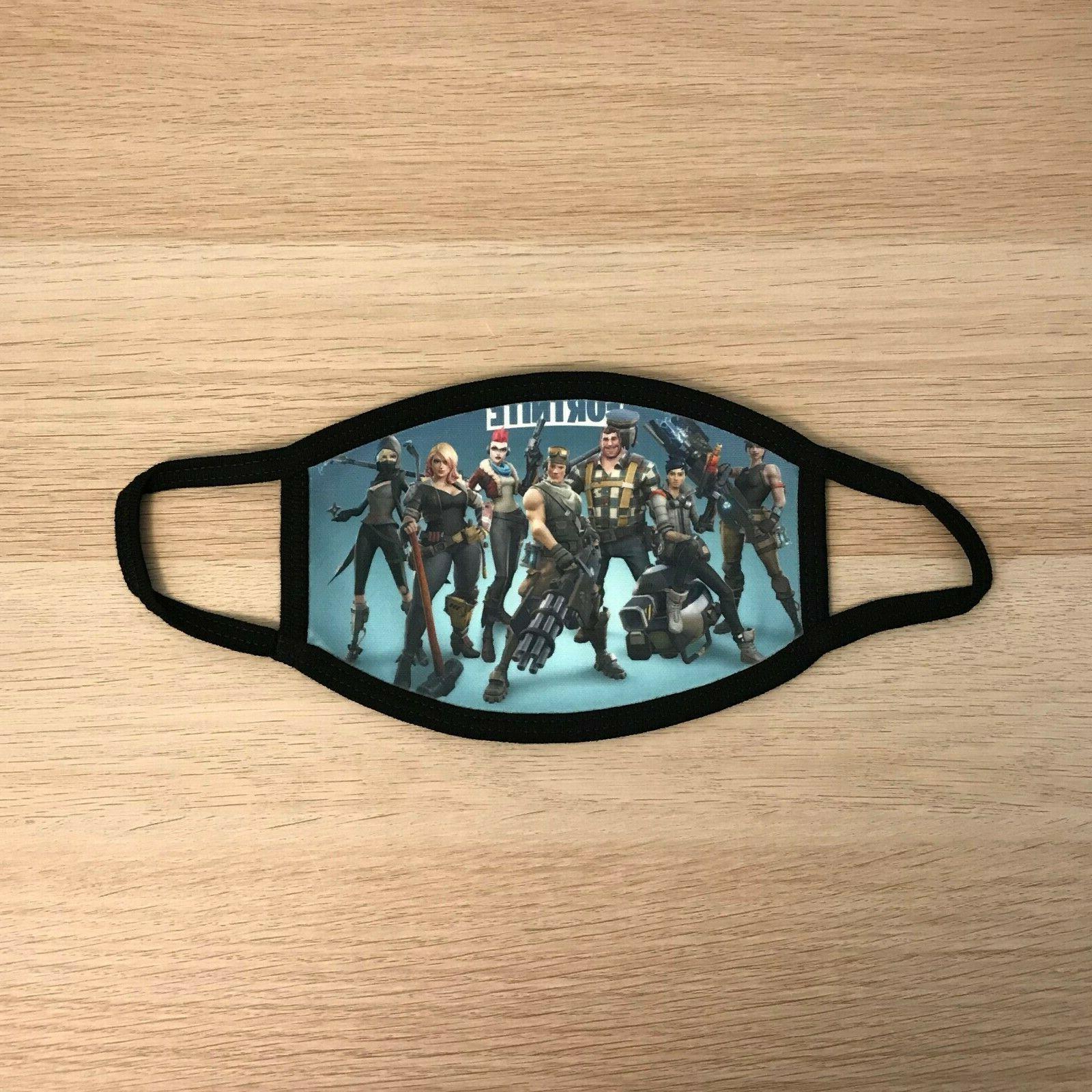fortnite season 4 heroes game face mask