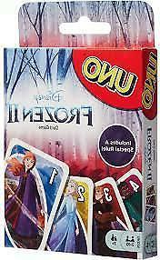 Mattel Games UNO Disney Frozen II Playing cards Game 7 year