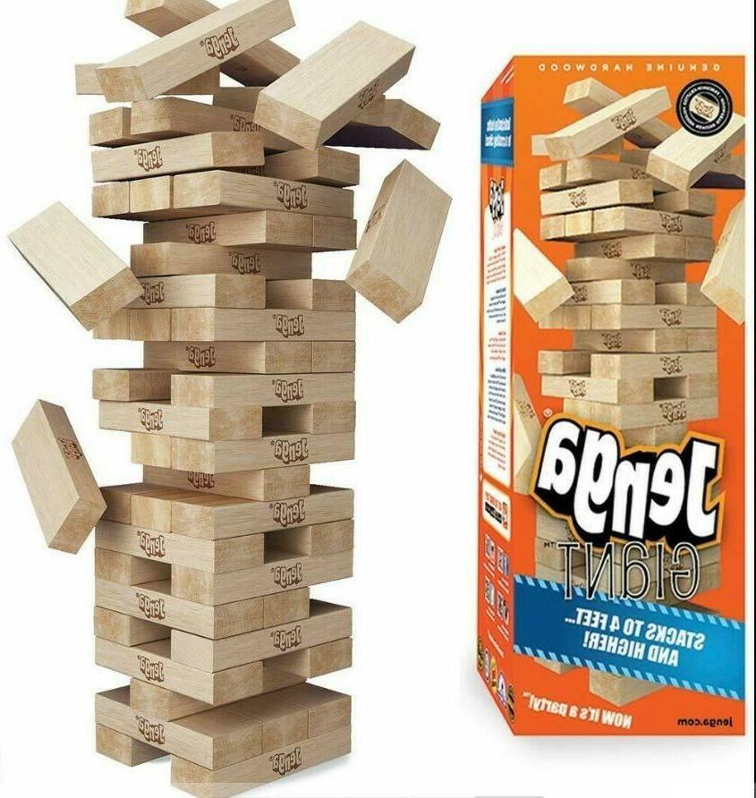 giant genuine hardwood game stacks to 4