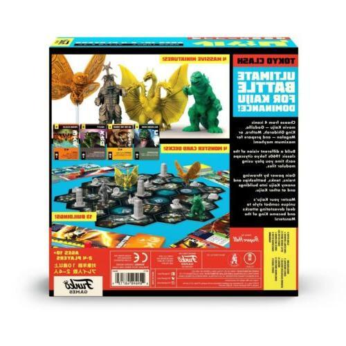 Godzilla: Tokyo NEW Strategy Board Game - Worldwide