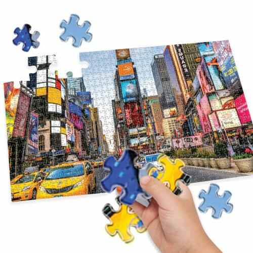 Jigsaw Puzzle Kid Adult Educational Toy Game Square