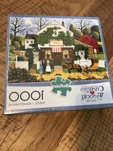 jigsaw puzzle 1000 pieces charles wysocki small