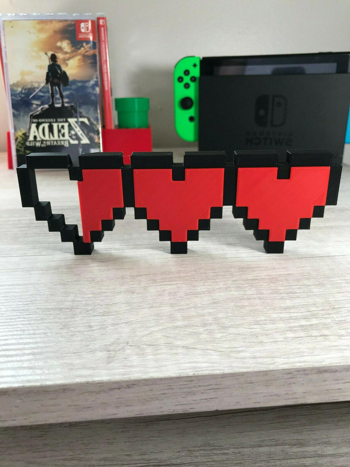 legend of zelda hearts video game logo