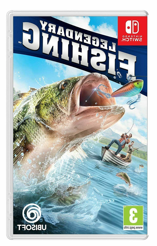 legendary fishing nintendo switch brand new factory