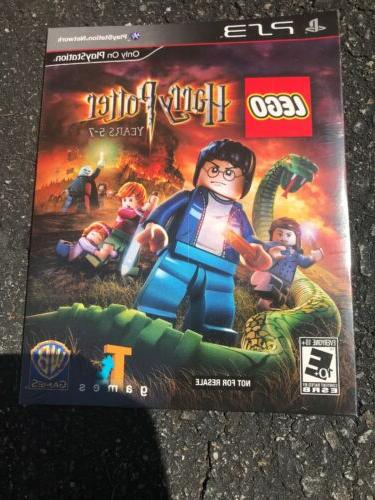 lego harry potter yrs 5 7 ps3