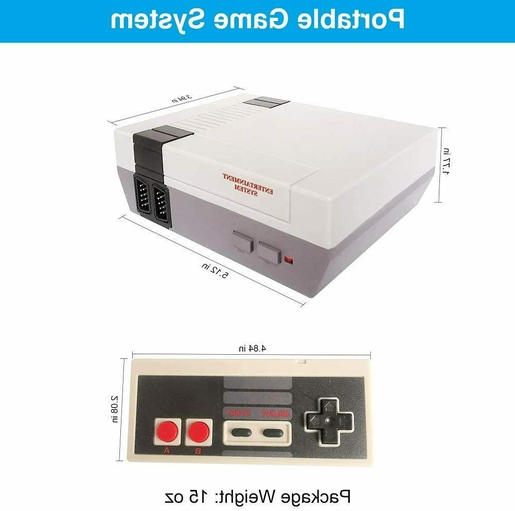 Mini Nintendo Console Built-In 620 Games+2