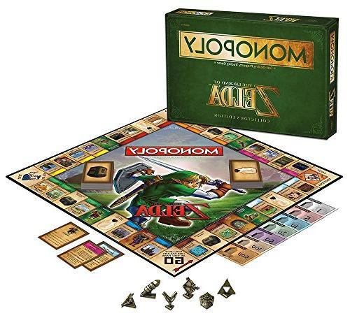 monopoly legend zelda collector