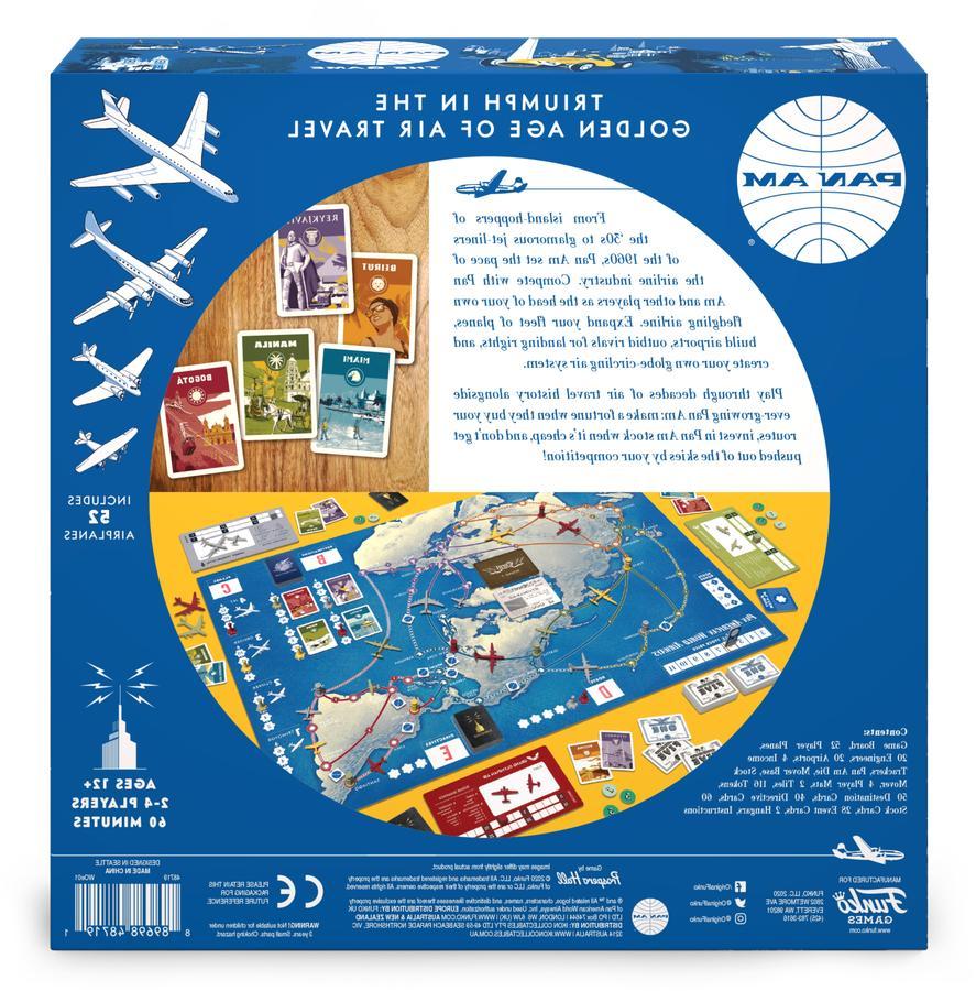 Funko Pan Am Strategy Board Game 2020!