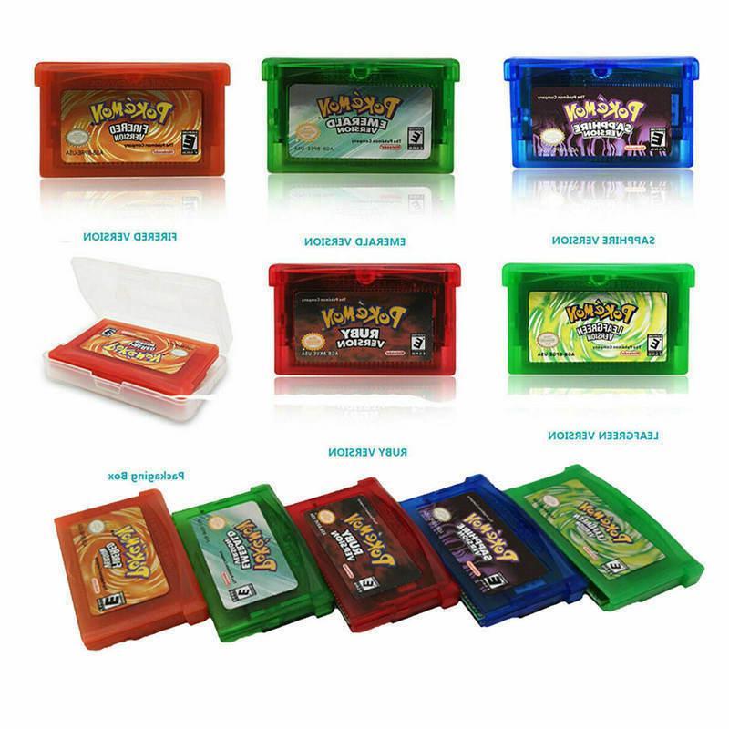 Pokemon FireRed LeafGreen Cards Cartridge