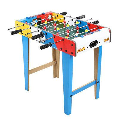 Foosball Game Set Soccer Competition Table Room Sports Toy f