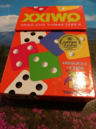 qwixx fast family dice game brand new