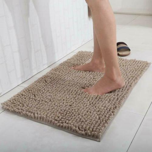 soft microfiber non slip bath mats