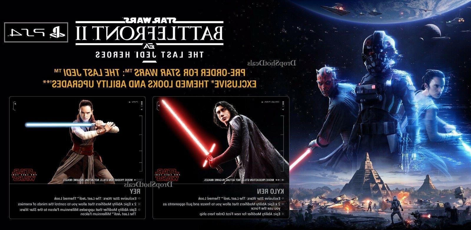 star wars battlefront 2 ps4 pre order