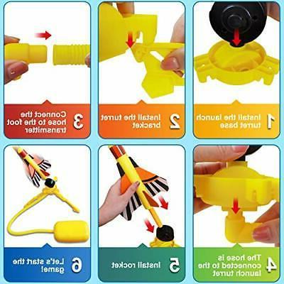 Step Rocket Toys Kids 4-12 Toy w/Adjustable