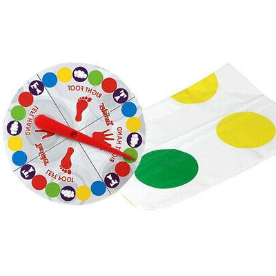 USA Twister Game Kid Family Body Twister Move Mat Sport