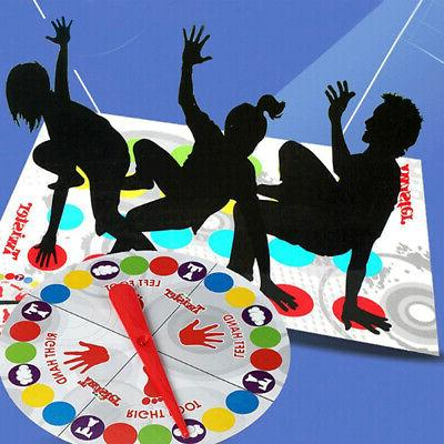usa twister game funny kid family body