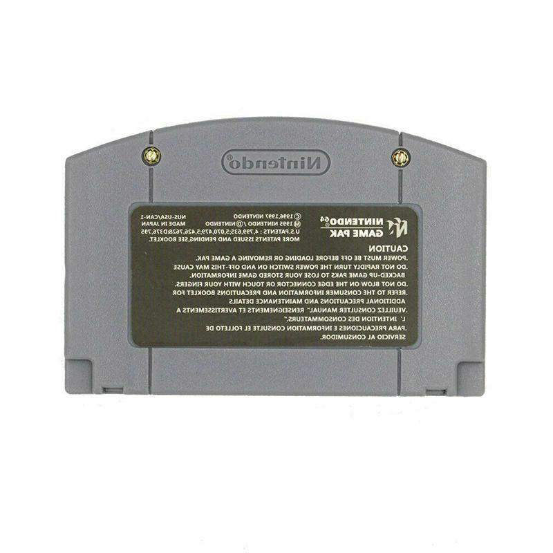 Video Console Card For Nintendo Mario 64 Version