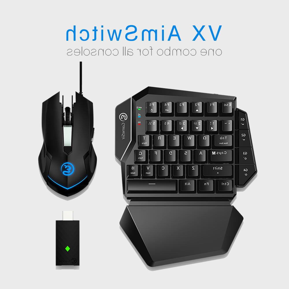 virgoist vx gaming keyboard and mouse combo