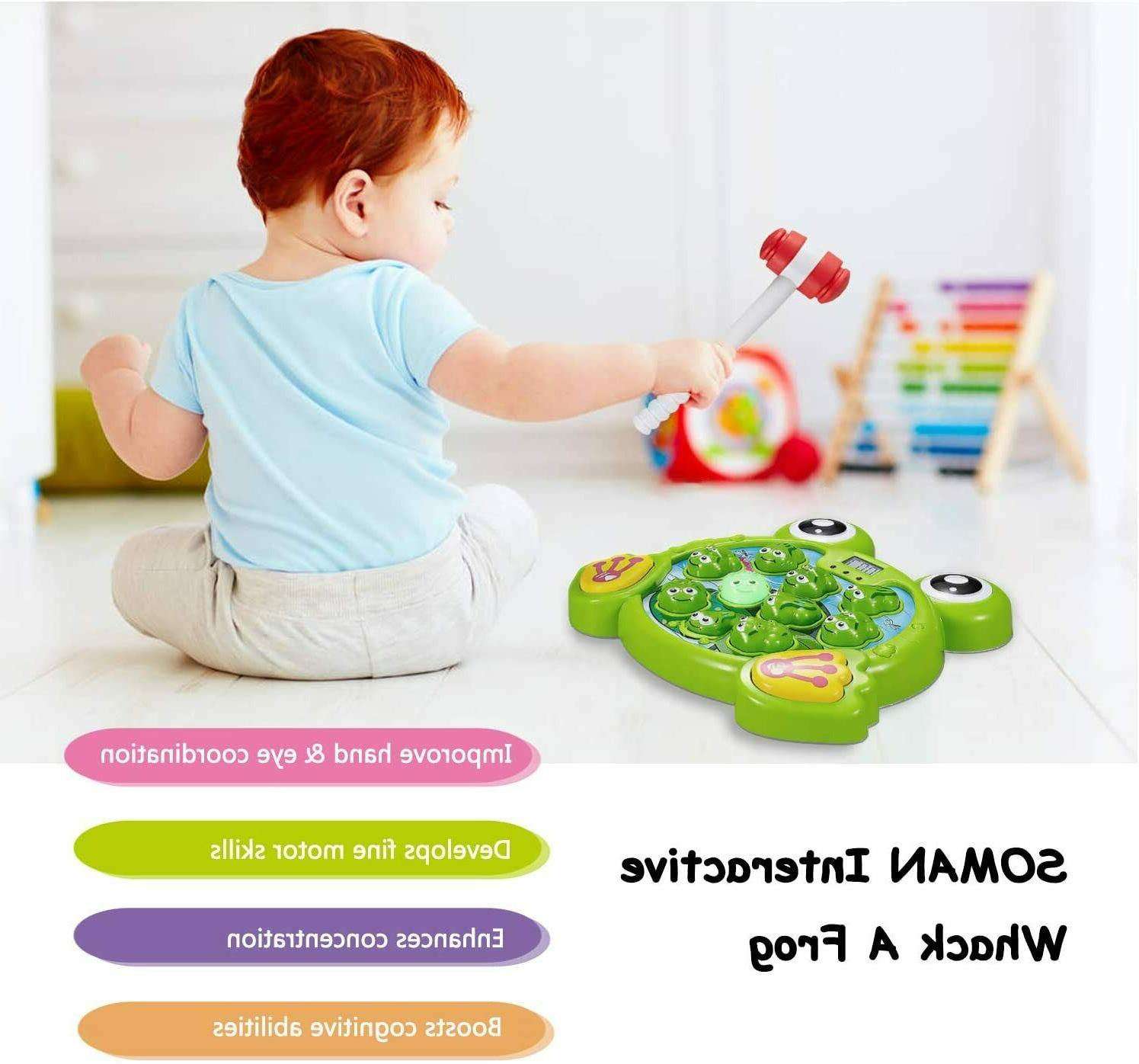 Whack A Game Toddler Year Old Learning Durable