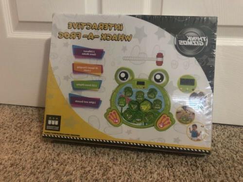 whack a frog pounding game developmental toys