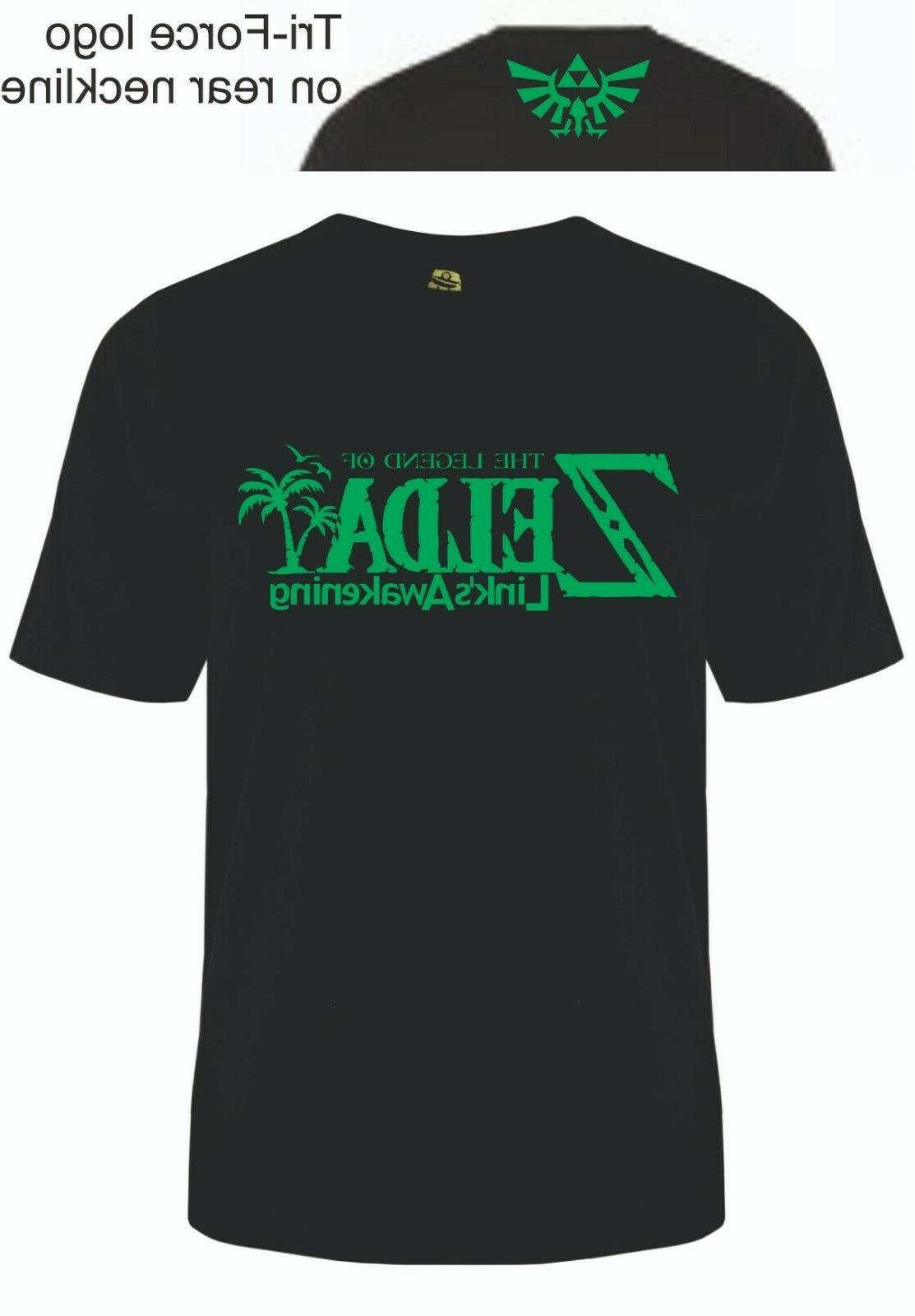 zelda link s awakening t shirt switch