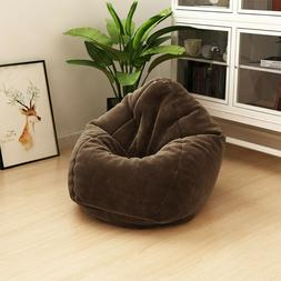 Large Bean Bag Chairs for Adults Couch Sofa Cover Indoor Gam