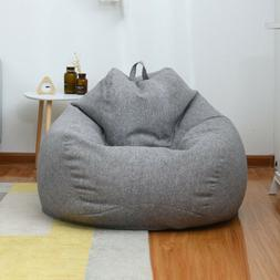Large Gamer Bean Bag Chairs Seat Couch Sofa Cover Indoor Laz