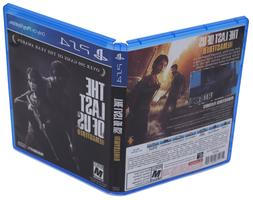 Last Of Us Remastered PS4 Replacement Game Case And Cover