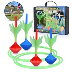Lawn Darts Game Glow in The Dark, Outdoor Backyard Toy for K