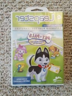LEAP FROG LEAPSTER LEAPPAD EXPLORER GAME PET PALS  AGES 4-7
