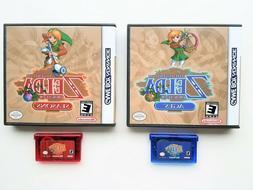 Legend of Zelda - Oracle of Seasons / Ages & Custom Case GBA
