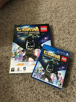 LEGO Batman 3: Beyond Gotham PS4 Game with Strategy Guide