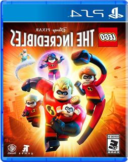 LEGO The Incredibles PS4 Sony PlayStation 4 Kids Video Game