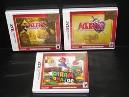Lot of 3 BRAND NEW  NINTENDO 3DS GAMES Mario 3D Land, Zelda