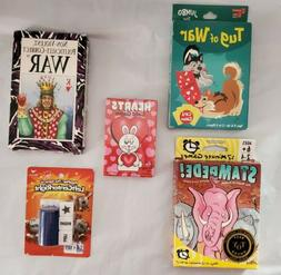 Lot of 5 Card & Dice Games for Children & are Family Friendl