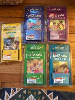 Lot Of 5 Wee Sing In The Car Songs Silly Games Audio Cassett