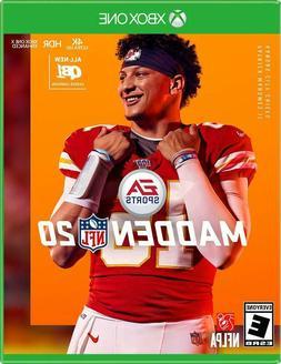 Madden NFL 20 Xbox One for Microsoft XB1 2019 2020 Football