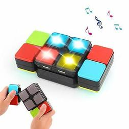 Magic Cube Electronic Music Cube Novelty Puzzle Game for Tee