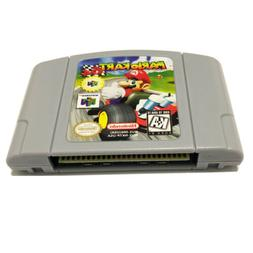 Mario Kart 64 Video Game Cartridge Console Card For Nintendo