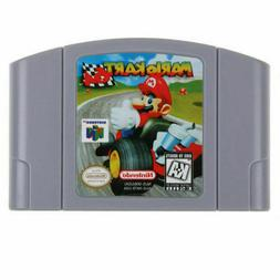 Mario Kart 64 Video Game Cartridge Console Card US Version F