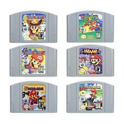 Mario Kart Super Mario 64 Party 1 2 3 Video Game Cartridge N