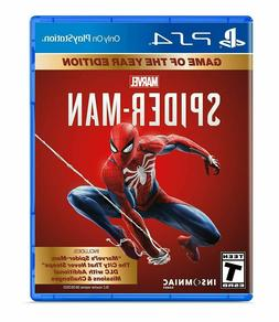 Marvel's Spider-Man: Game of the Year Ed PS4 - NEW/SEALED!