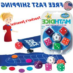 Math Dice Junior Game for Boys and Girls Age 6 and Up Teache