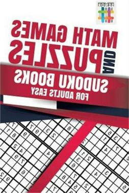 Math Games and Puzzles Sudoku Books for Adults Easy