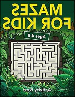 Mazes For Kids Ages 4-8: Maze Activity Book | Workbook for G