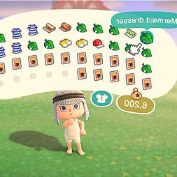 Mermaid Do It Yourself Animal Crossing - and crafting materi