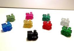 Mexican Train Domino Game Markers  8 Glitter Pieces Per Bag+