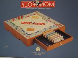 Michael Graves Design Wooden Monopoly Set Collectors Edition