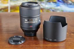 Nikon Micro NIKKOR 105mm f/2.8G AF-S VR IF-ED Lens